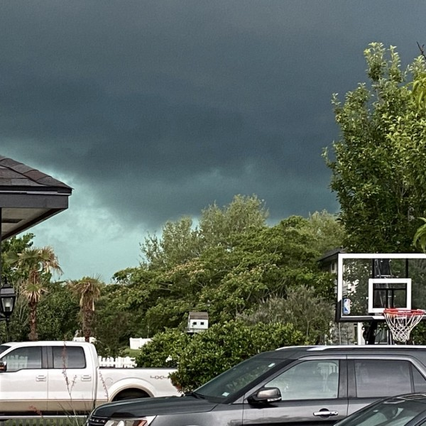 Approaching storm in Kyle on Tuesday, May 18