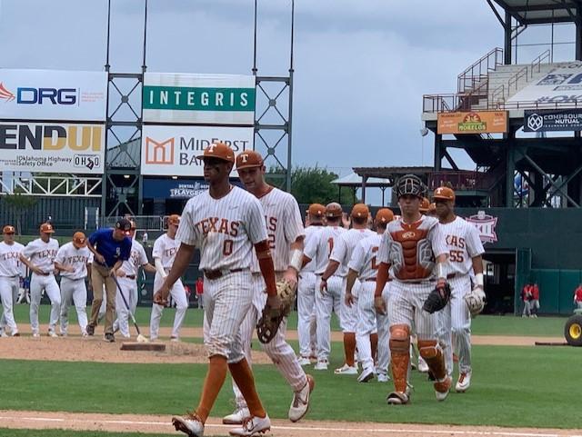 Texas baseball at the Big 12 Tournament