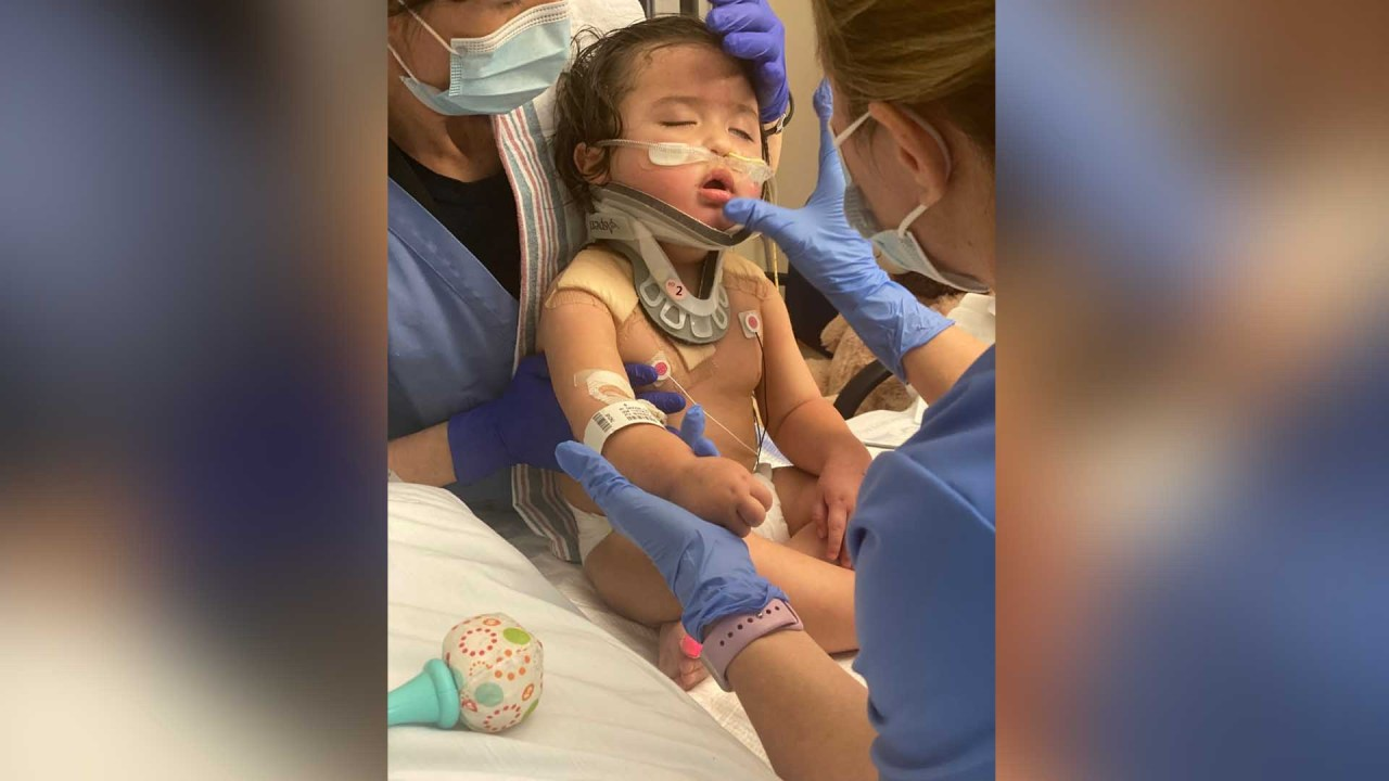 'Face down in the tub': Emotional warning from Buda family after son's bathtub accident