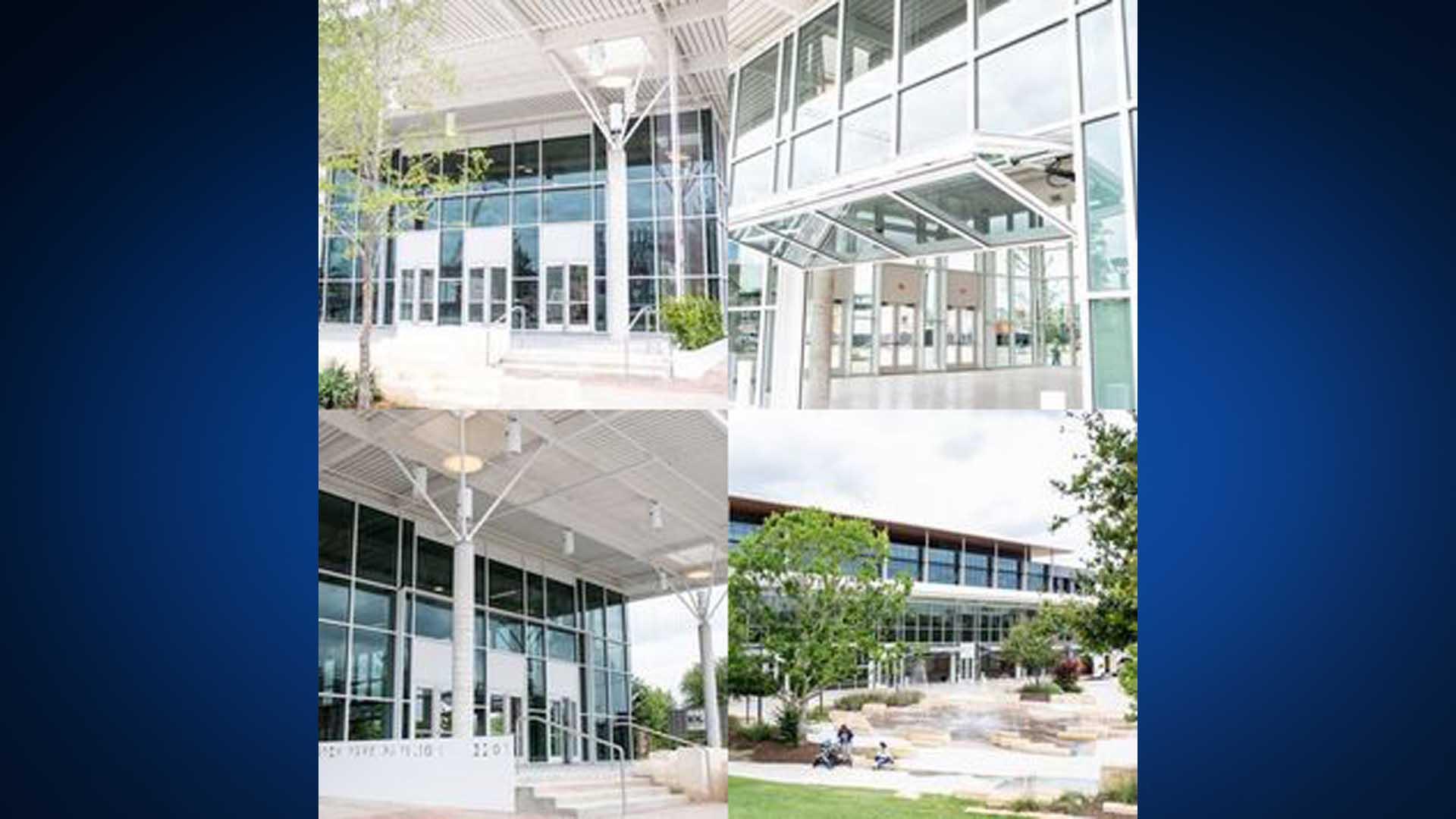 New Pavilion at Mary Elizabeth Branch Park (Texas Farmers' Market Photo)