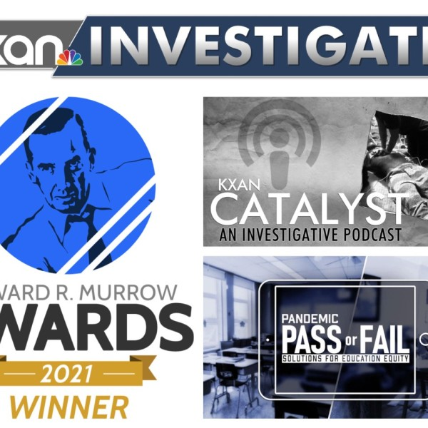 KXAN team members won a total of four regional Edward R. Murrow awards in 2021 (KXAN Photo)