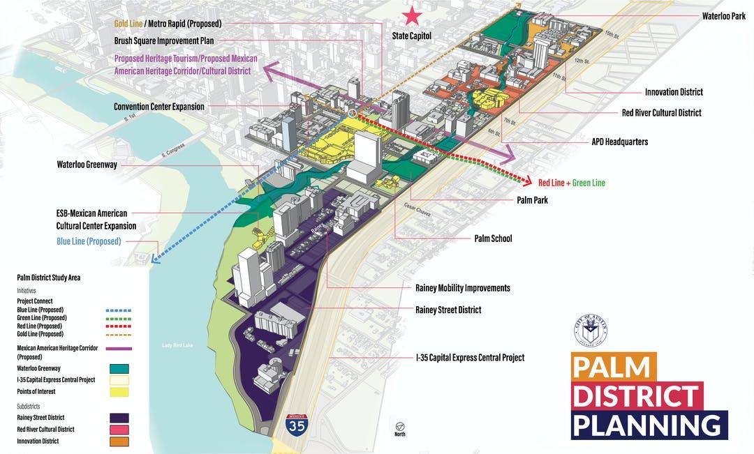 Palm District Planning Initiative (City of Austin Photo)
