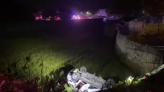 Crash at Hill Country Galleria June 16, 2021 (Photo Courtesy of Jenny Hoff)