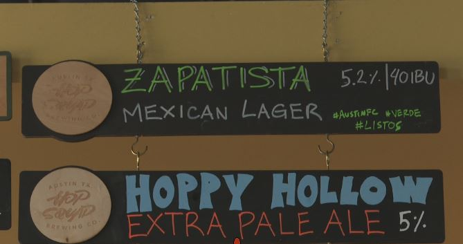 Cheers! North Austin breweries ramping up business before Austin FC's first home game
