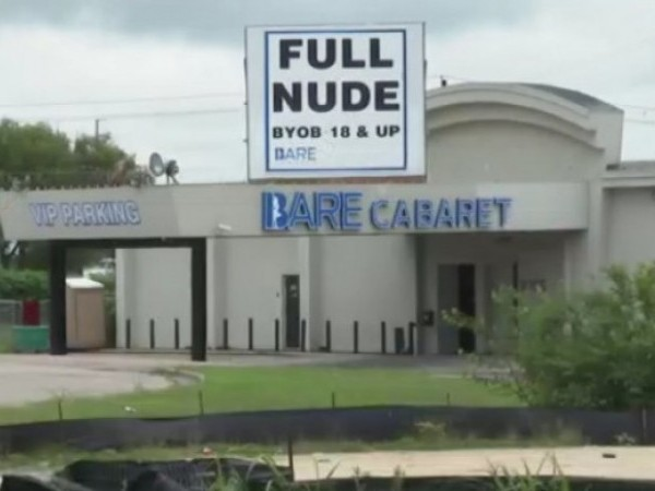 Bare Cabaret in northeast Austin was the scene of a shootout on May 23, 2021 (KXAN Photo)