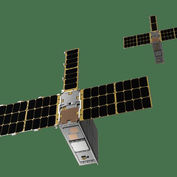 Cesium Satellite 1 and 2 (Courtesy Cesium Astro)