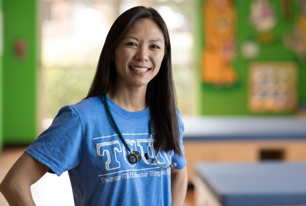 Dr. Lisa Gaw is a pediatrician in Austin and said she's treating more common illnesses including colds, croup and strep throat. (Courtesy: Texas Children's Urgent Care)