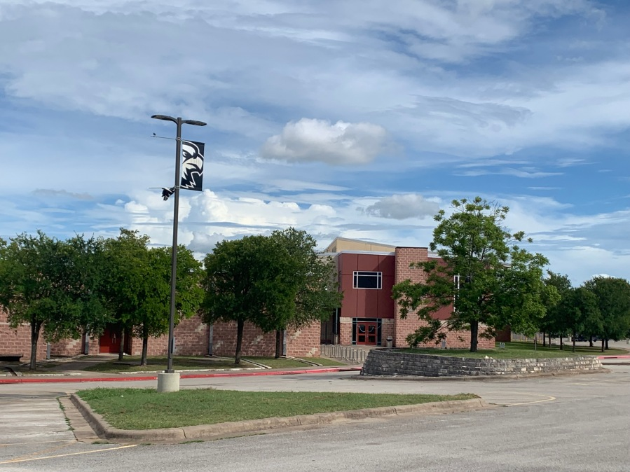 Akins Early College High School campus (KXAN Photo/Avery Travis)