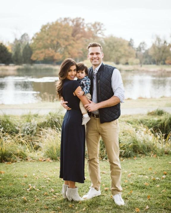 Britt, her son Weston and husband Jordan (Courtesy Britt Moreno)