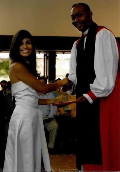 Britt Moreno graduated from St. Stephen's Episcopal School in western Travis County (Courtesy Britt Moreno)