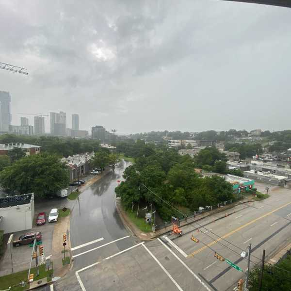 Rainy day in Austin
