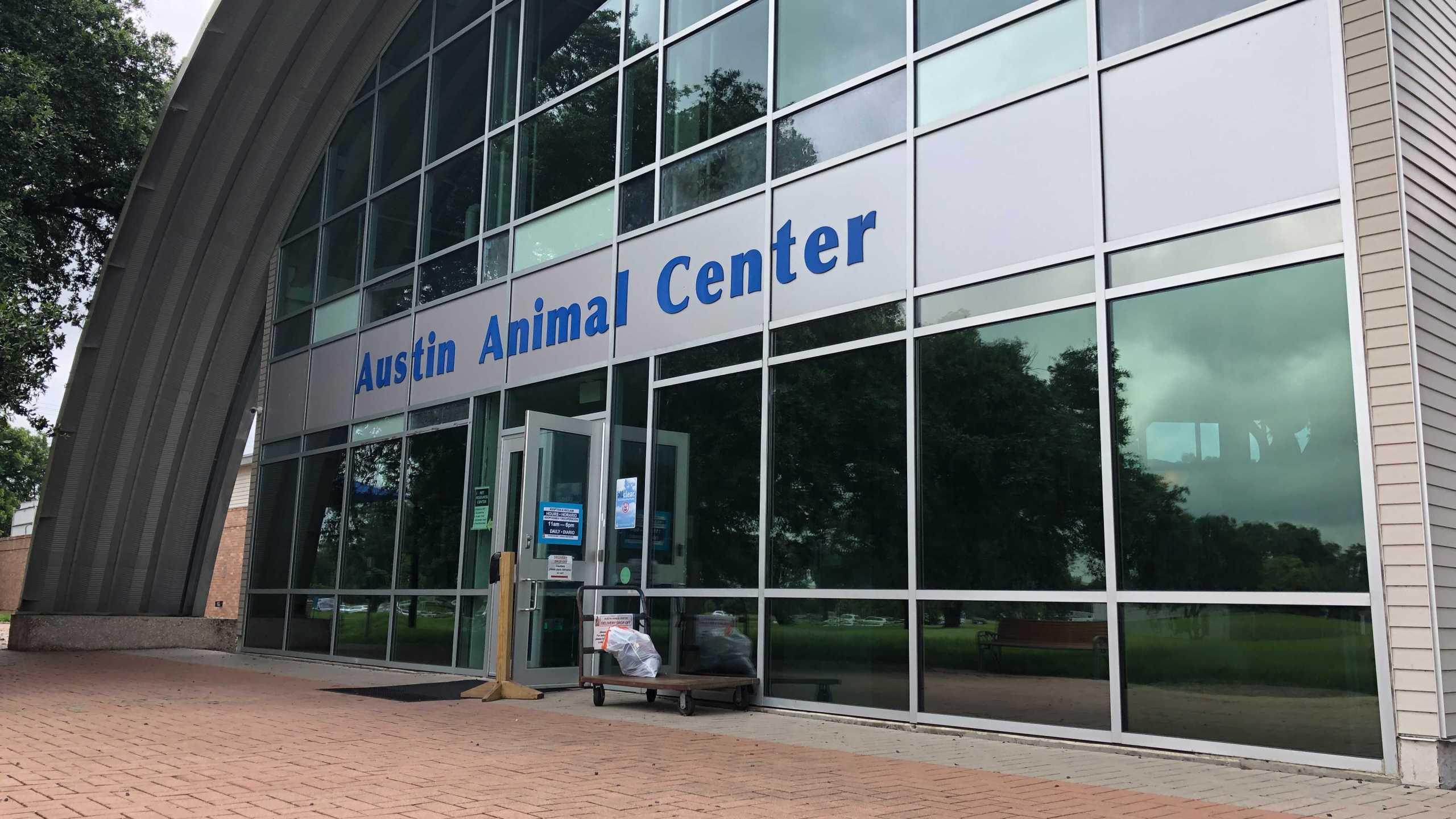Austin Animal Center (KXAN Photo/Chris Nelson)