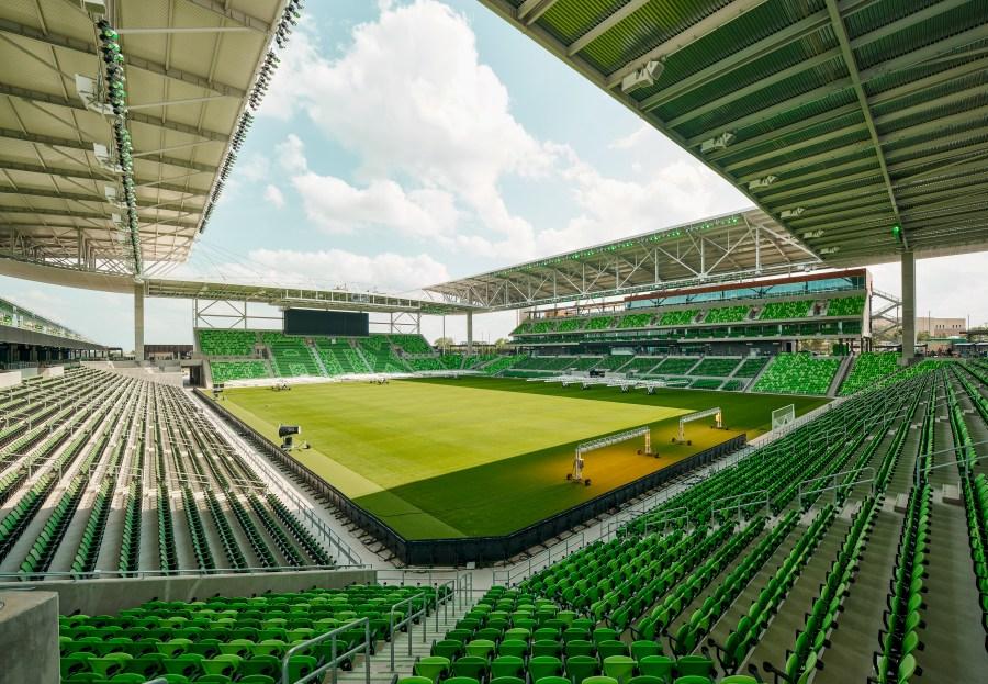 Q2 Stadium. (Courtesy of Gensler)