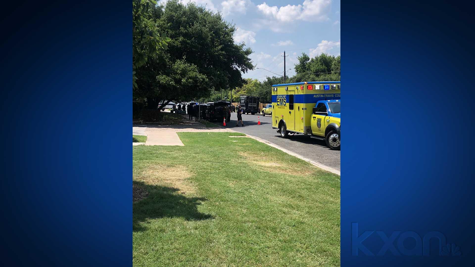 SWAT callout in east Austin near Elmont Drive, Town Lake Circle