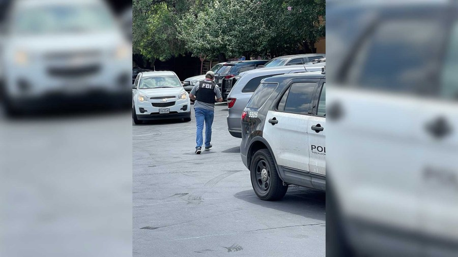 Large police presence at apartment complex on South Pleasant Valley Road June 12, 2021 (Courtesy: KXAN Viewer)