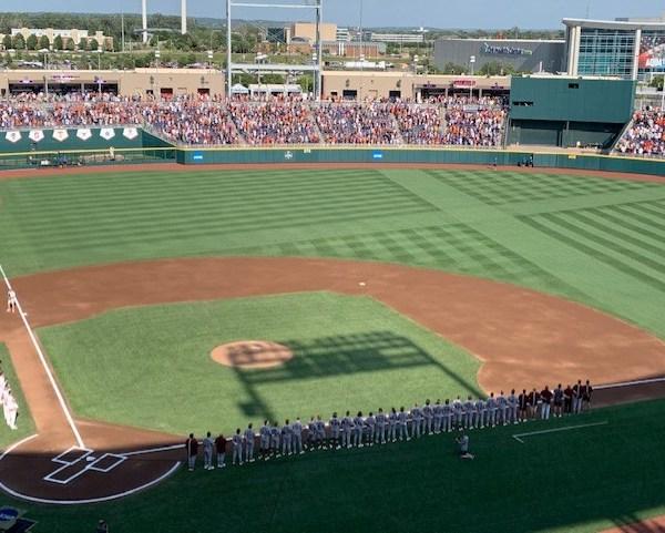 Texas baseball College World Series 6-20-21