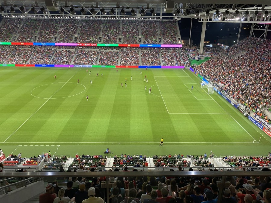 US Women's National Team at Q2 Stadium