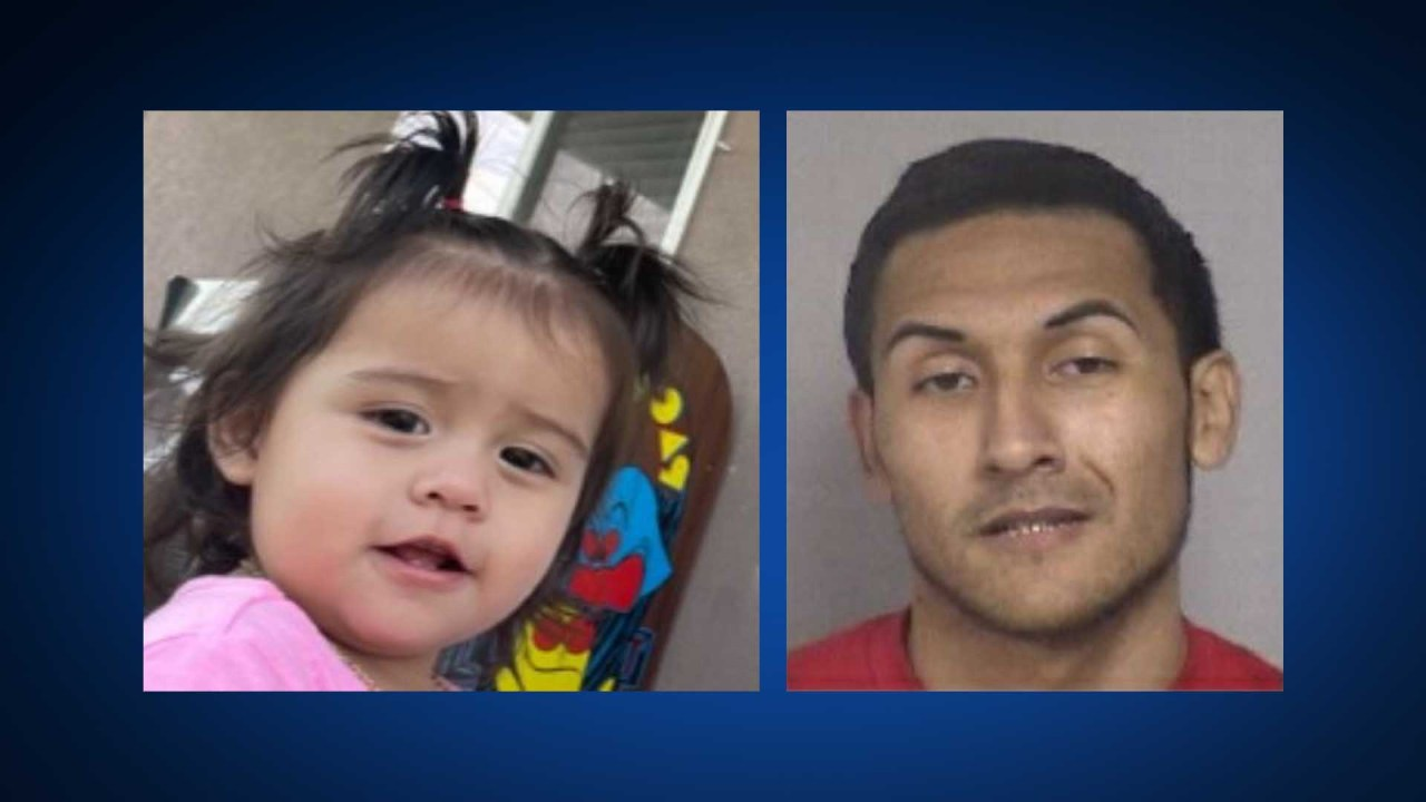 AMBER Alert: Police search for baby girl, 24-year-old man in connection with her abduction