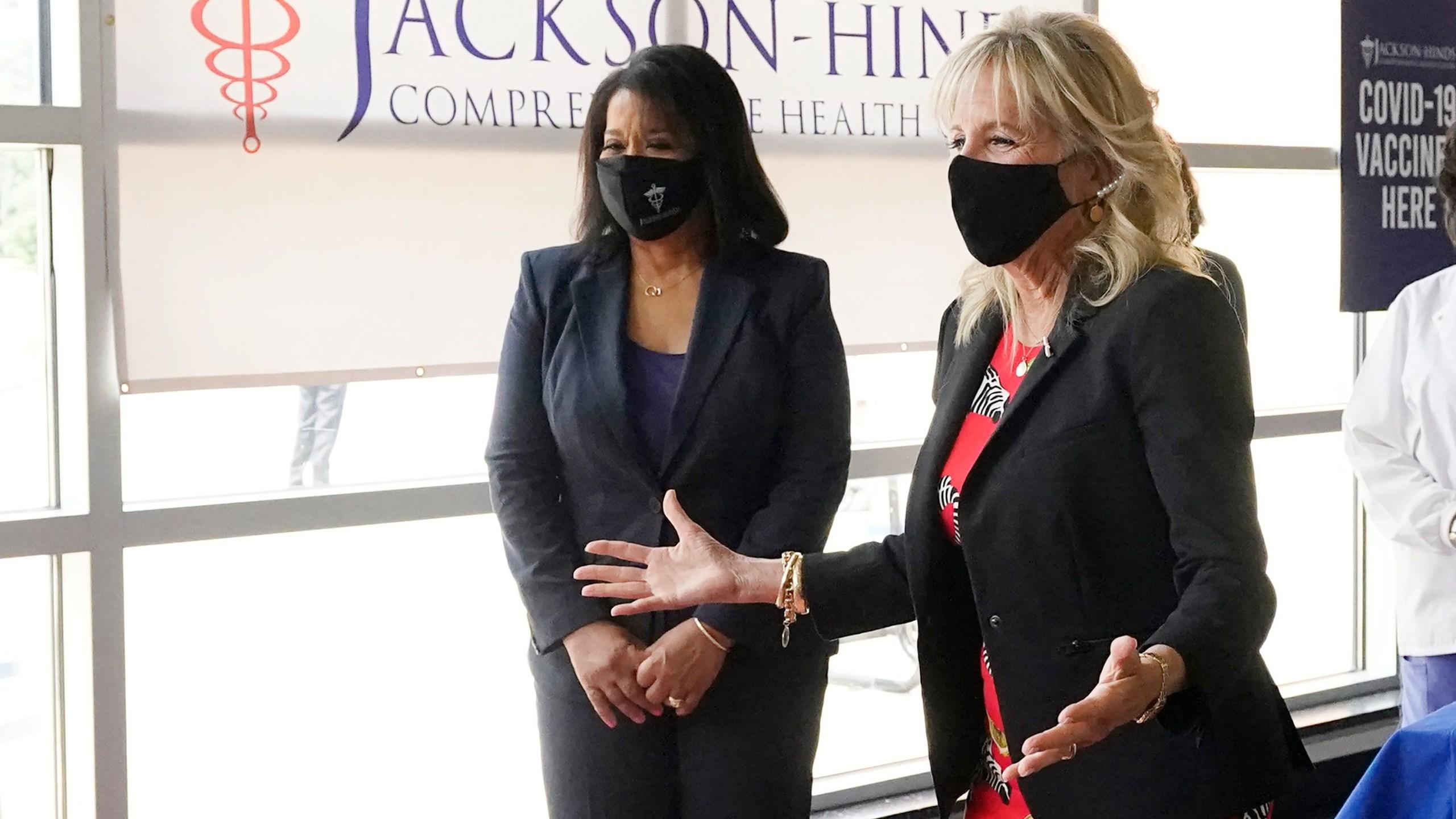 Jill Biden, Jasmin Chapman