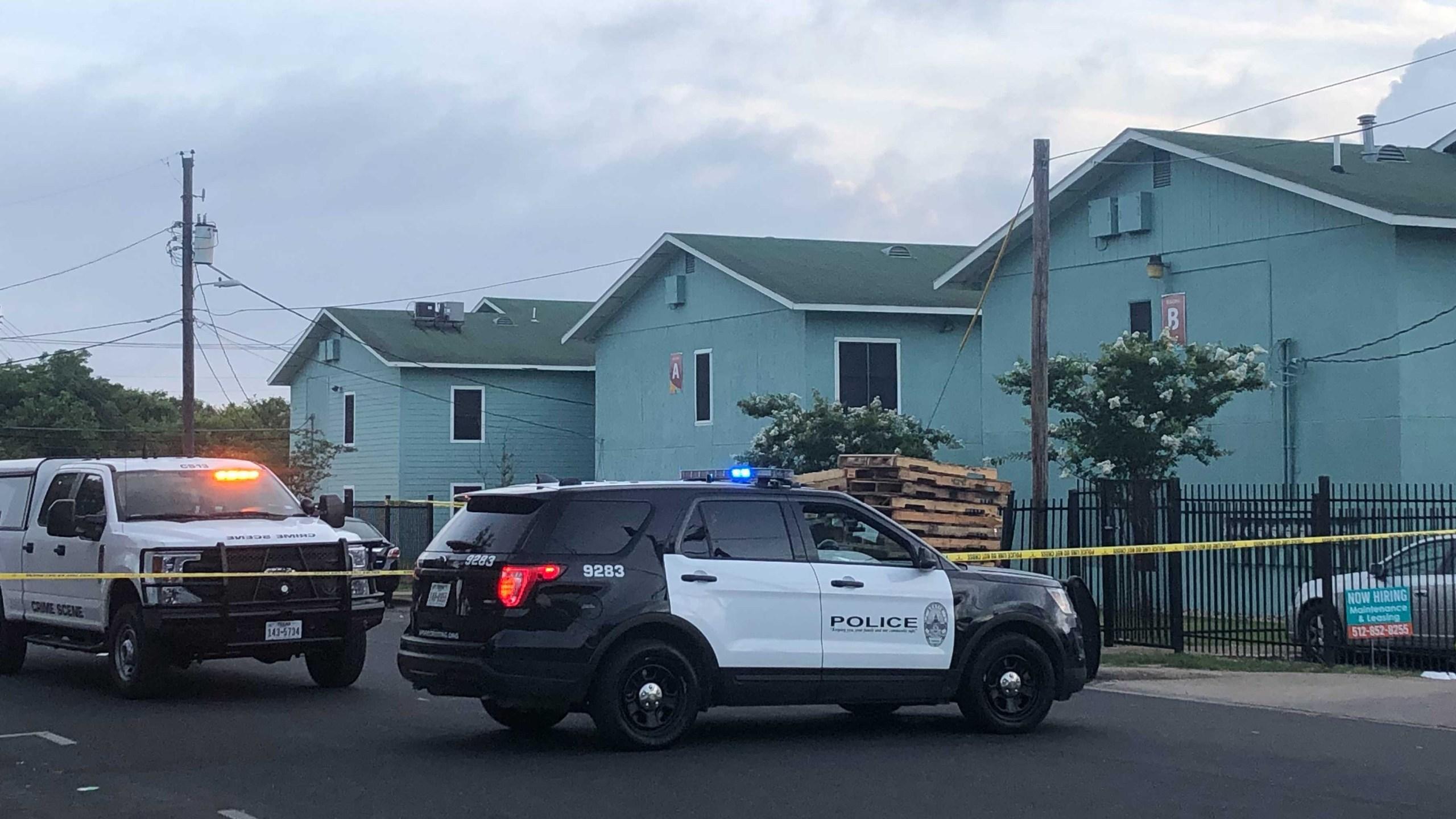 According to Austin Police Department, the stabbing happened at 7247 Cameron Road (KXAN/Mariano Garza)