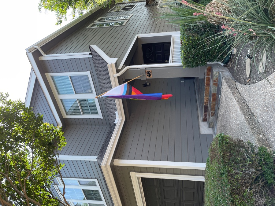 Texas Homeowners Threatened With Steep Fines Over Their Pride Flag