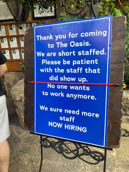 The Oasis on Lake Travis now hiring (KXAN/Kaitlyn Karmout)