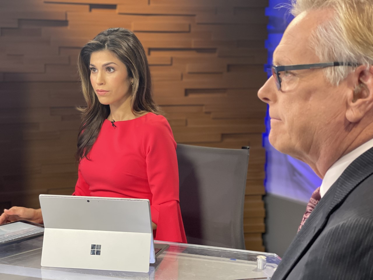 KXAN anchor Britt Moreno is finally back home in Austin