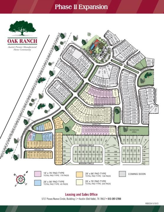 Planned expansion of Oak Ranch subdivision near the Tesla gigafactory