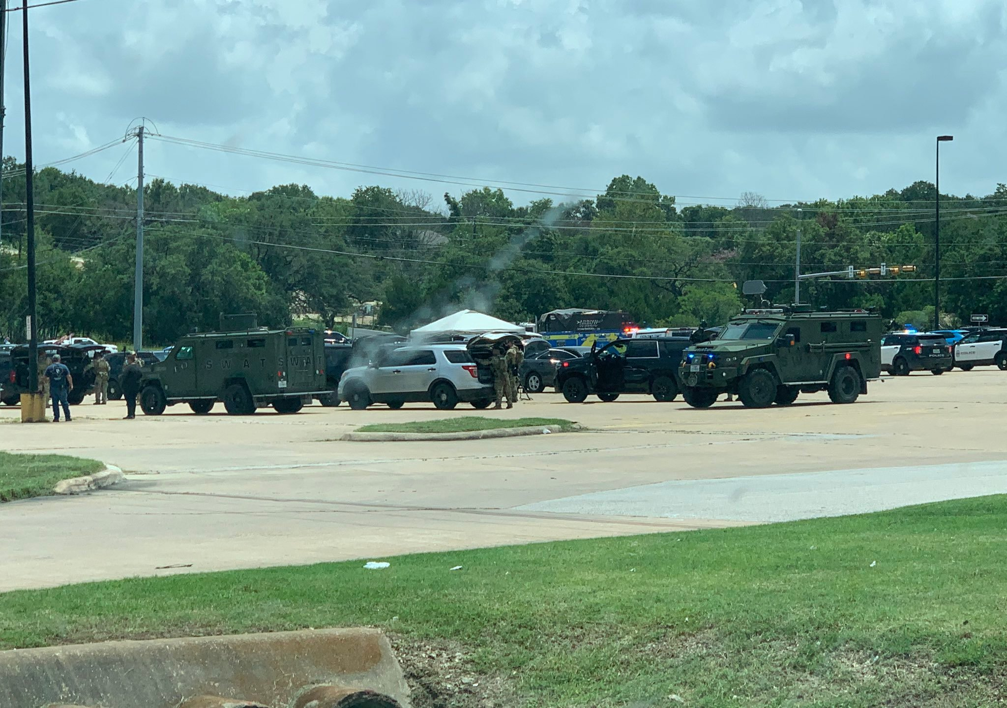 SWAT callout near SH-71/Old Bee Caves Road near Oak Hill July 13, 2021 (Courtesy of Anthony Scoma)