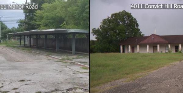 Austin homeless camp sites