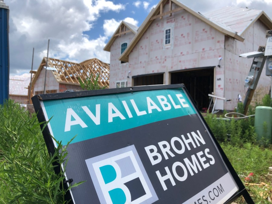 Brohn Homes is building homes in new subdivisions from Georgetown to Lago Vista. (KXAN Photo/Chris Nelson)