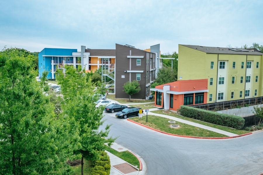 Client housing provided by LifeWorks in Austin