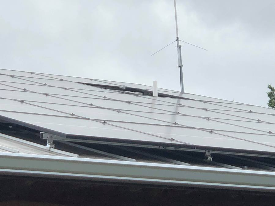 Devon Humphry installed his solar panels in December 2010.