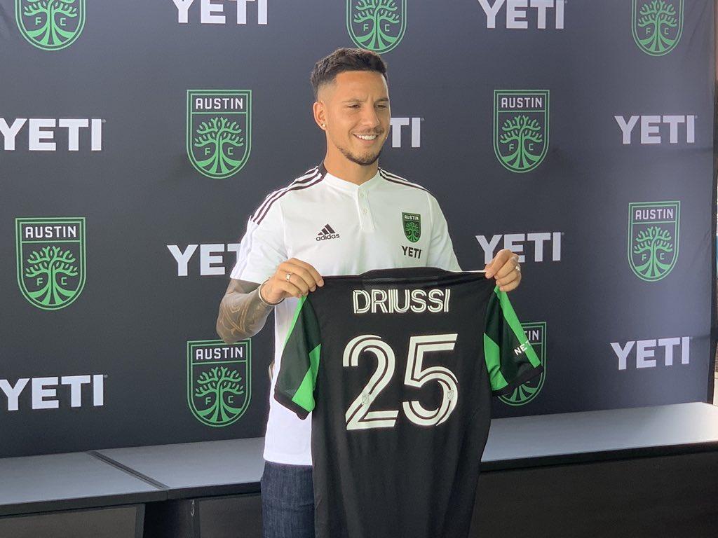 Sebastian Driussi signing Austin FC