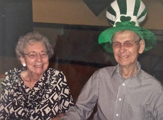 A photo of Sharon Butler's parents. (Courtesy Sharon Butler)