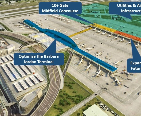Austin Bergstrom-International Airport is looking to expand and improve current facilities for a more streamlined experience for travelers (AUS Photo)