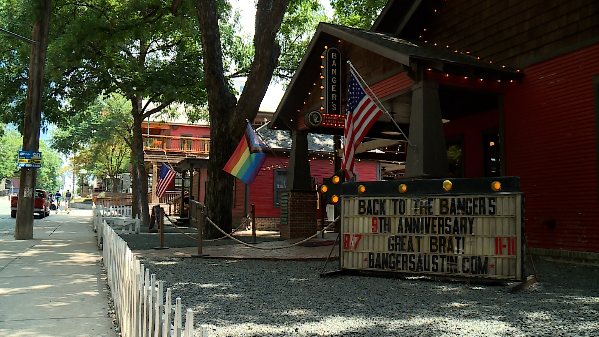 Banger's Sausage House & Beer Garden (KXAN Photo/Richie Bowes)