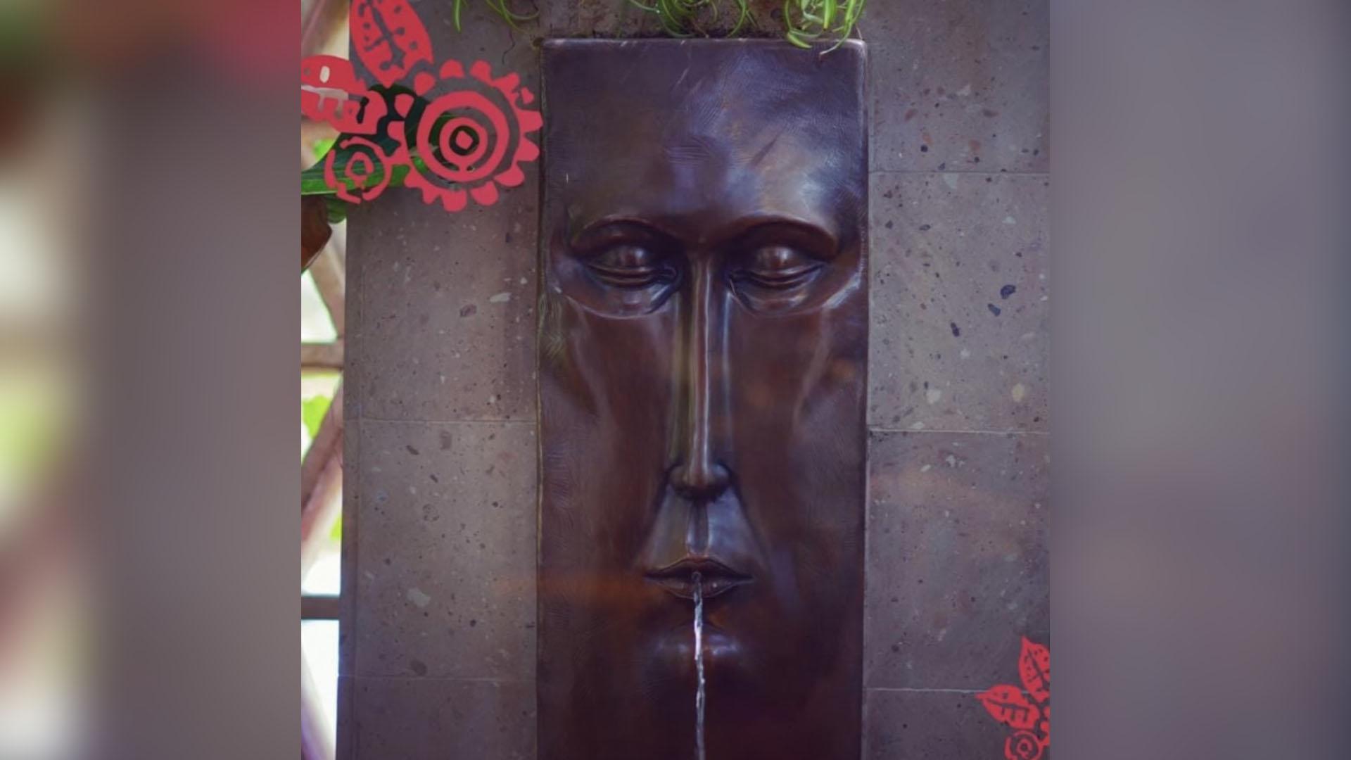 Photo of stolen fountain from Austin's Fonda San Miguel restaurant (Courtesy: Fonda San Miguel)