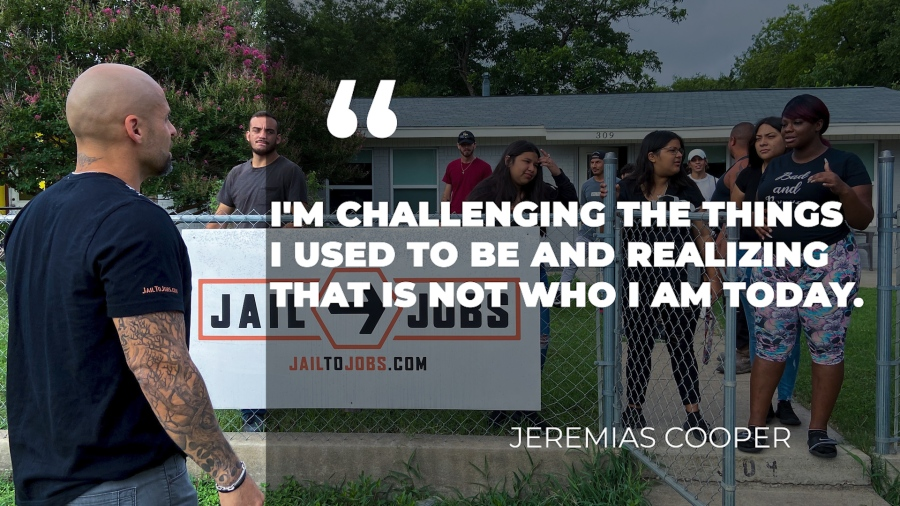 Jeremias Cooper on working at Jail to Jobs.