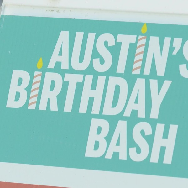 At Republic Park downtown, Austin celebrated its 182nd birthday bash — a return to in-person festivities after 2020's virtual event. (KXAN Photo/Alex Caprariello)