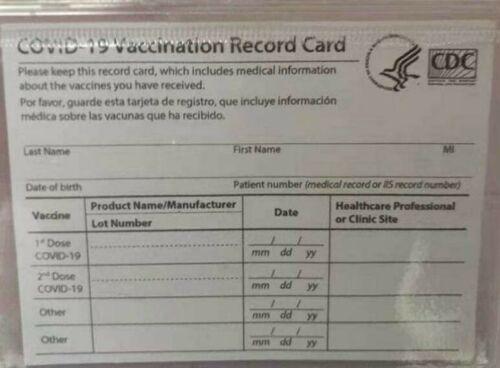 Fake CDC vaccine cards sold online (KXAN screenshot)