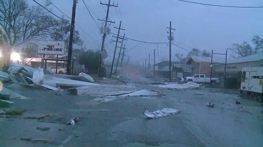 Houma - Hurricane Ida damage