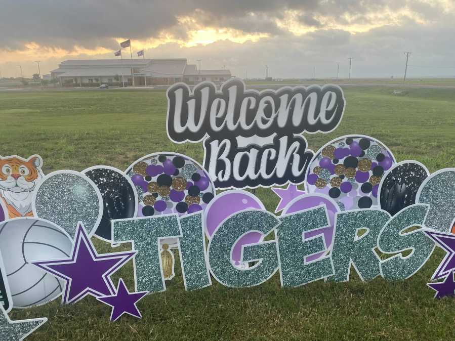 Thrall ISD is back in the classroom ahead of just about everyone in Central Texas as the dsitrict began classes Monday. (KXAN photo/Nabil Remadna)