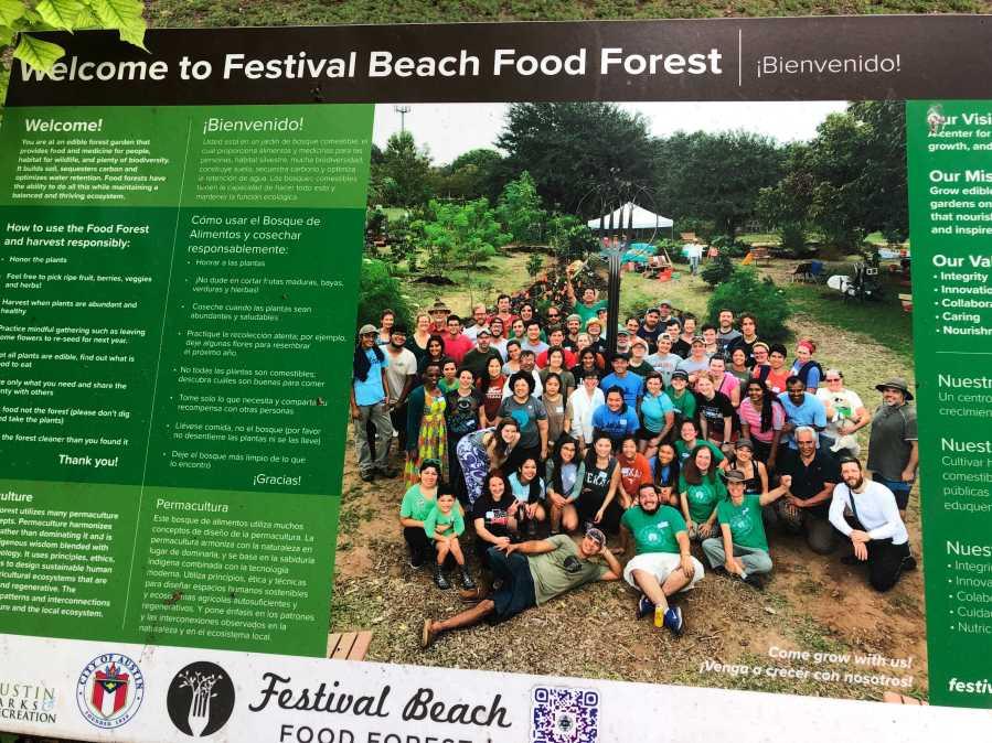 Festival Beach Food Forest (KXAN Photo/Frank Martinez)
