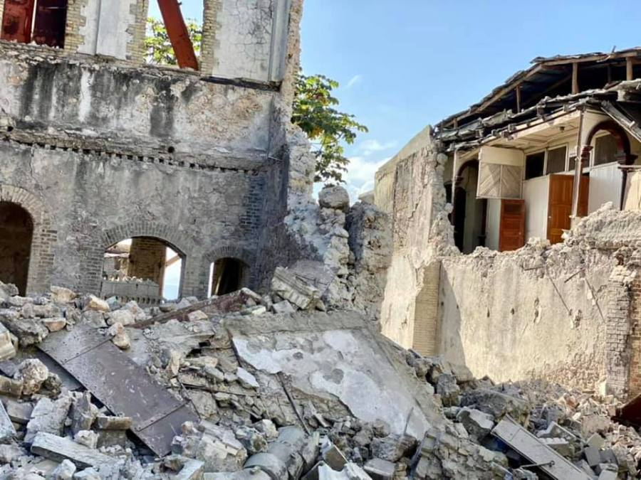 Mission of Hope's Haitian team is providing medical resources and relief after a 7.2 magnitude earthquake hit the southwestern portion of the island Saturday. (Courtesy: Mission of Hope)