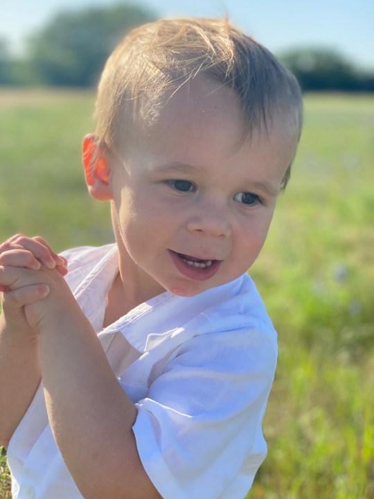 Rebecca Sylvia-Cramer's 2-year-old son