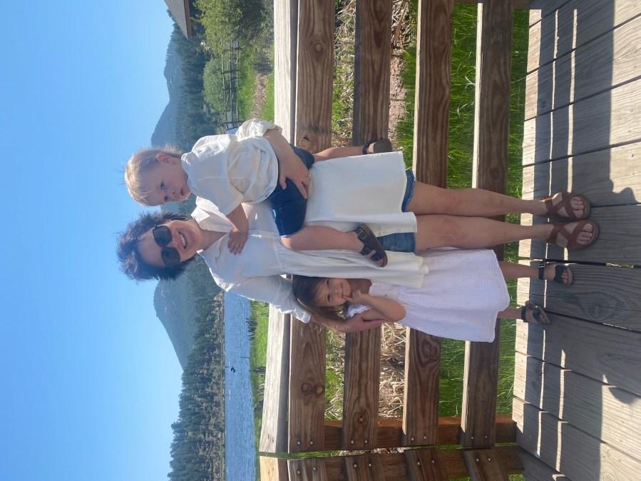Rebecca Sylvia-Cramer and her family