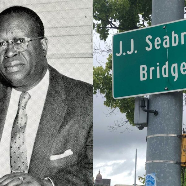 J. J. Seabrook and the bridge named after him