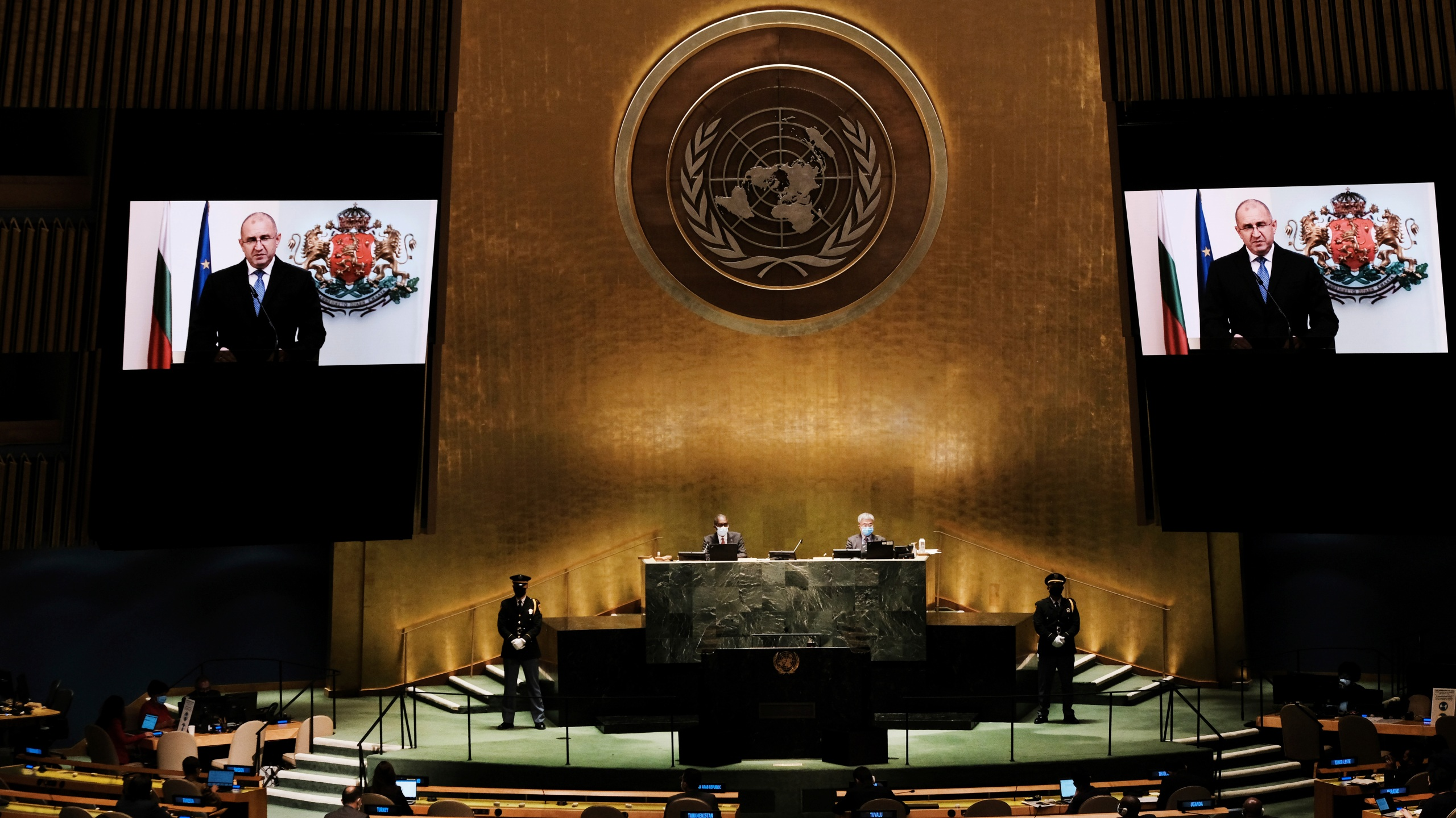 Rumen Radev, Annual United Nations General Assembly Brings World Leaders Together In Person, And Virtually