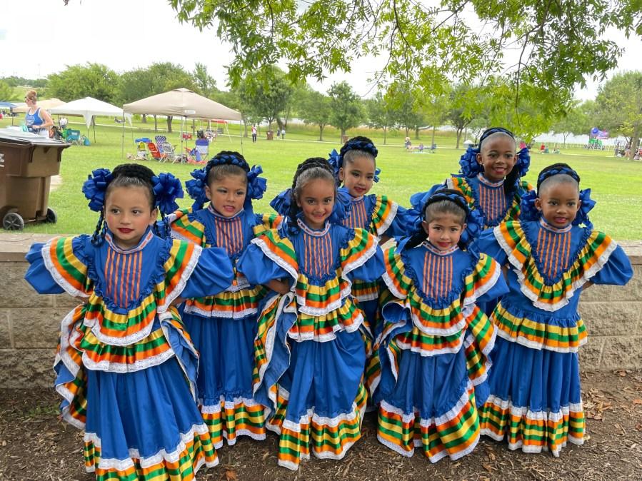 Round Rock Ballet Folklorico dancers (Courtesy Yolanda Sanchez)